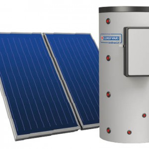 Solar Thermal System Puffermas 1 CTS